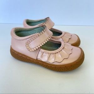 Livie and Luca Ruche Mary Jane Pink Size 5